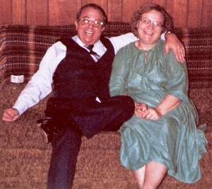 Dick and Mae, Christmas 1981